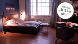 unser Klassiker, das Loft Vintage Industrial Bett aus dem Kinofilm SMS für Dich