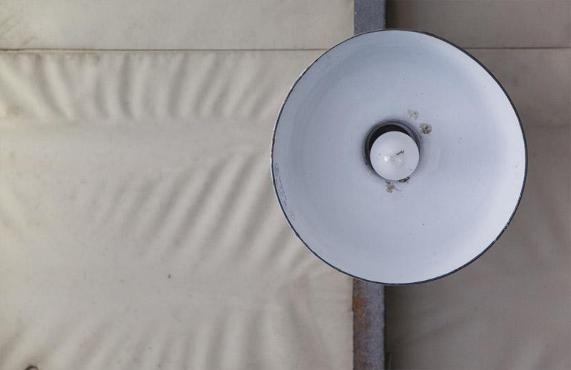 Designklassiker, N51E12, Lampe, Werkhalle