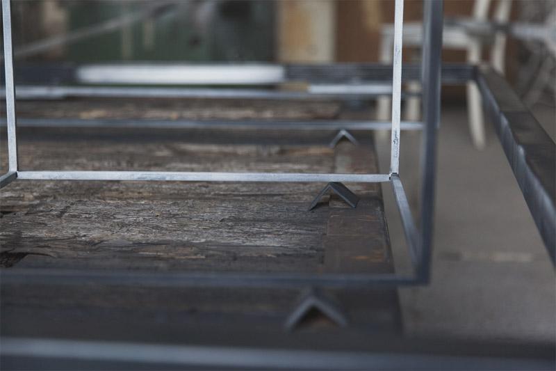 pulverbeschichtete Stahl