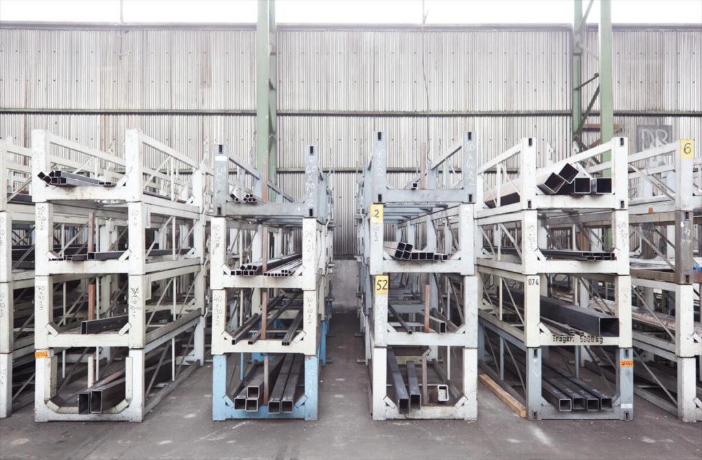 große Auswahl von Eisen und Stahl direkt beim Großhandel