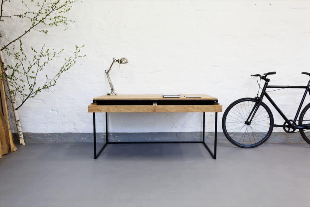 Design office schreibtisch n51e12 design manufacture for Arbeitstisch design