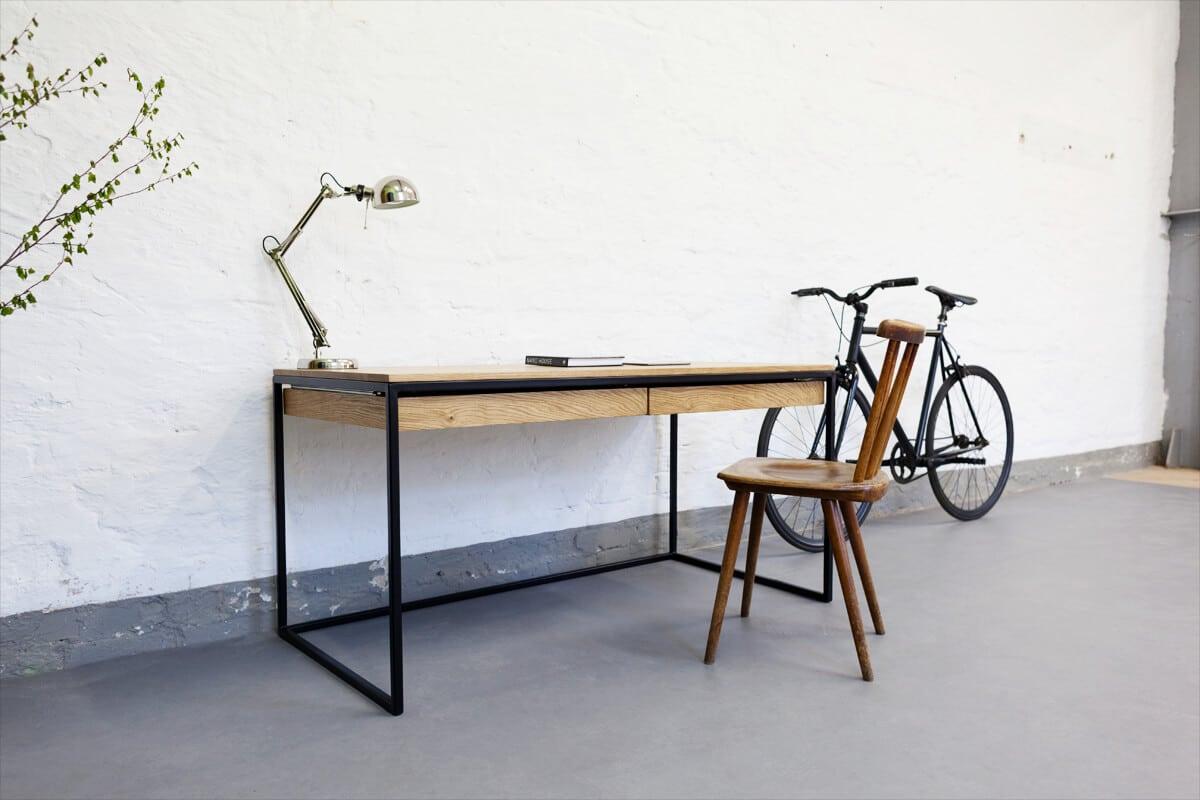 Design office schreibtisch n51e12 design manufacture for Designer arbeitstisch