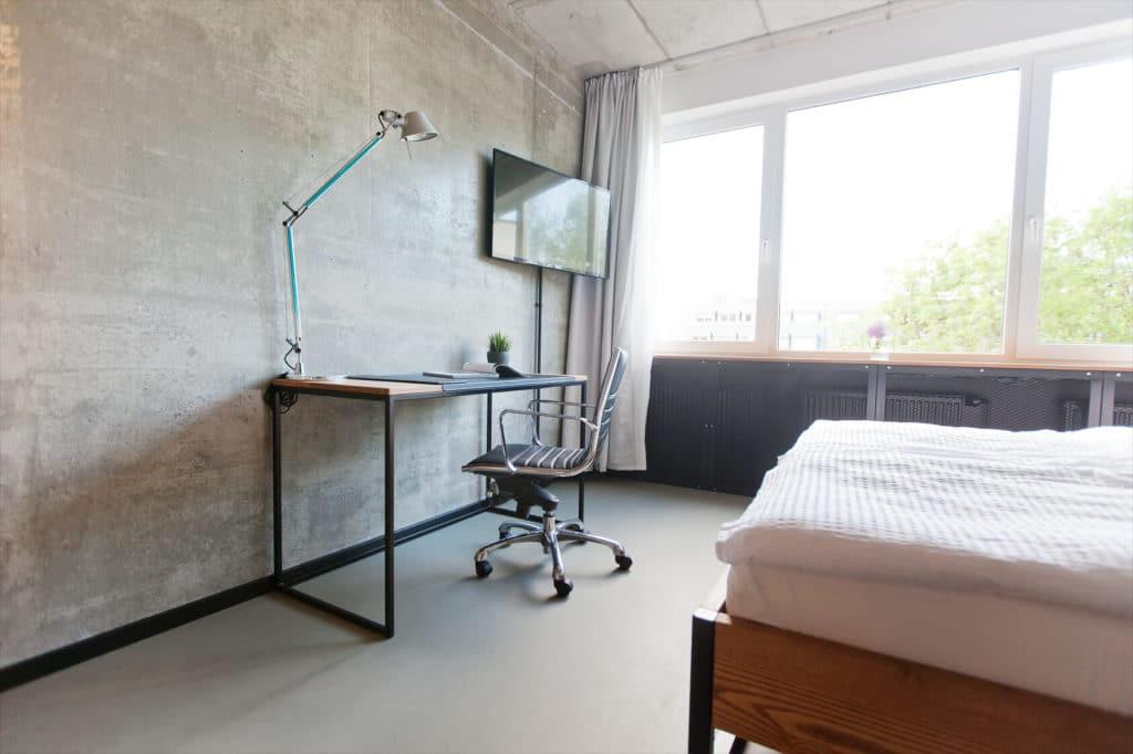 N51E12 - Showroom, Showapartment, Apartment, Loft, Schreibtisch, Bett, Sonderanfertigung, Individuell