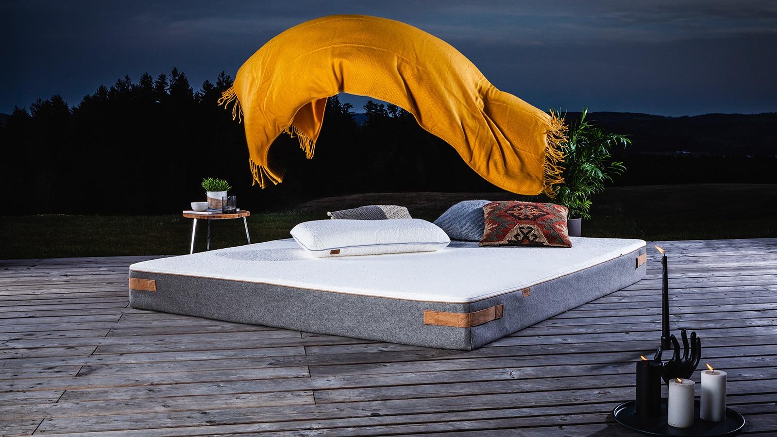 Jona Sleep Matraze - Latex Matratze für das Schlafzimmer, passend zum Loft