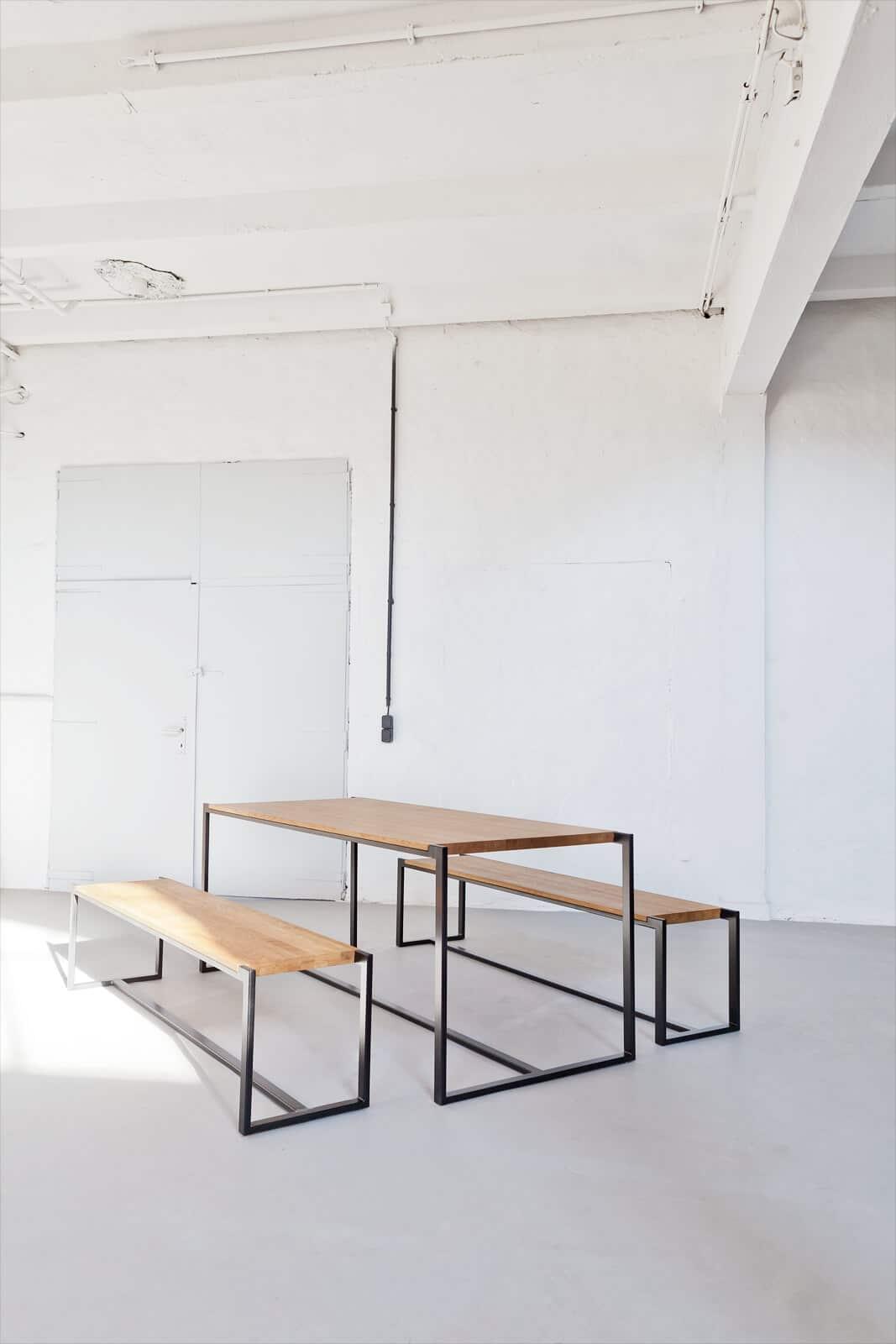 t19 design massivholztisch 101 - n51e12 - design & manufacture