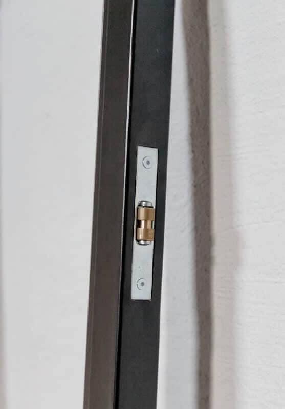 Stahl Loft Glas Tür Griffmulde, Griff, Stahllofttuer, Stahltür, Glaswand, Stahl Glas Wand, Rollschnapper