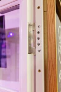 Stahl Loft Glastrennwand, Loft, Loft Stahl Tür, Raumtrenner, Glaswand, Trennwand, Glastrennwand, Lofttür, Doppeltür, Stahlwand, Stahl Loft Tür, Stahl, Glas, Windfang, Bauhaus Tür, Designtür