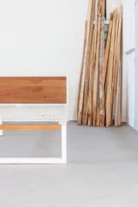 N51E12 - Massivholz Buche - Doppelbett - Designbett- Bettgestell- Loft Bett- Massivholzbett - Bettrahmen- 180x200