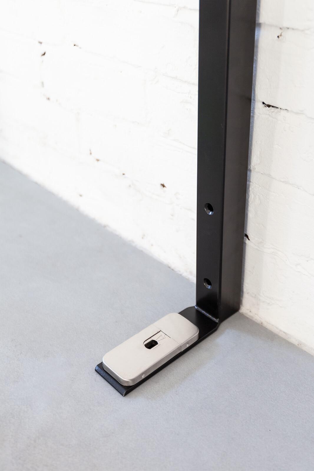 N51E12 - Pivot - Schwingtür - Bodenaufnahme - Bodenelement - 4-Kant-Zarge