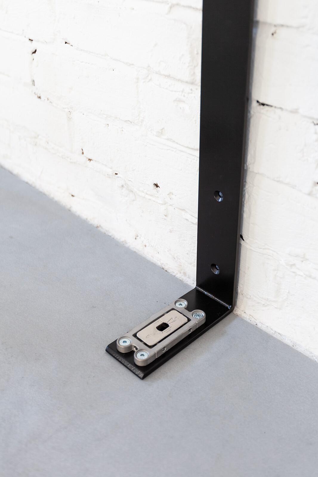 N51E12 - Pivot - Schwingtür - Bodenaufnahme - Bodenelement - Flachzarge