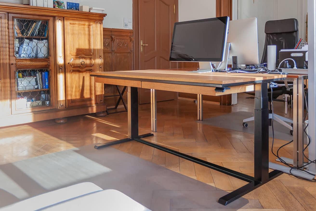 n51e12 smart design hoehenverstellbar schreibtisch schublade massivholz stahl img 0472 shop