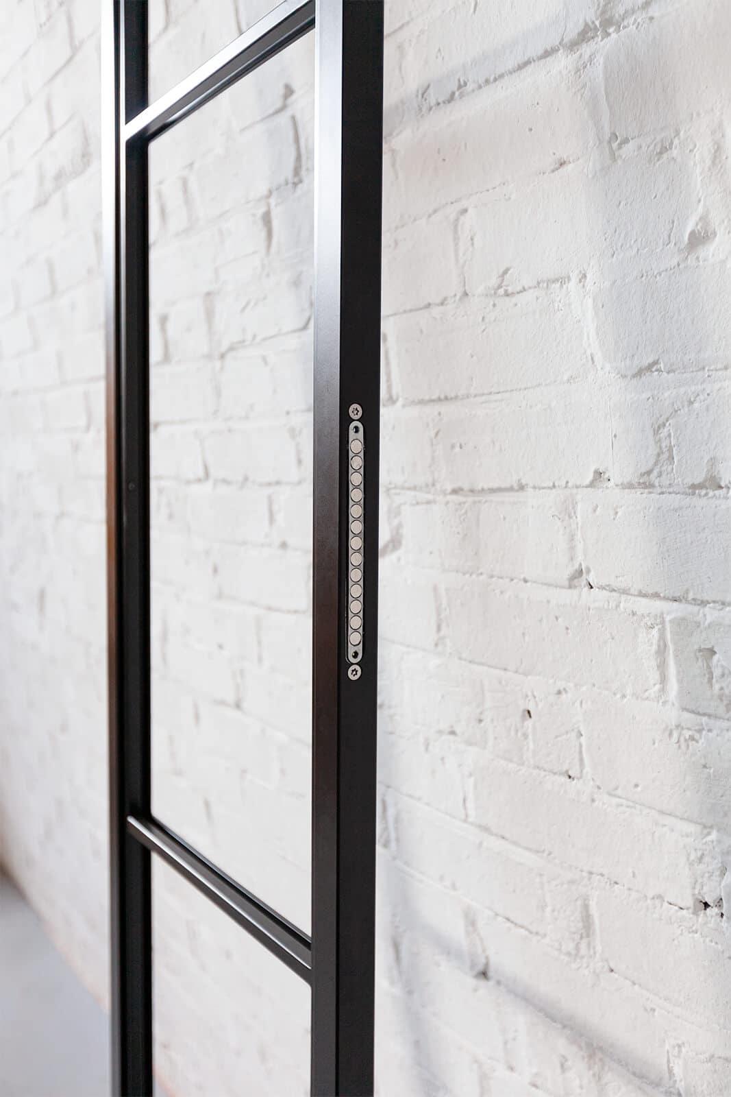 N51E12 - Stahl Loft Tür - Türmagnet, Schliessmagnet, Magnet