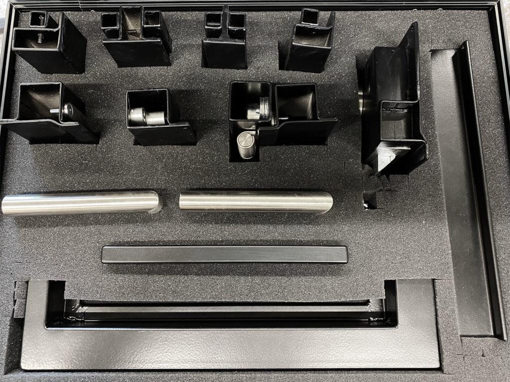 N51E12 - Musterkoffer - Stahlprofile, Stahl Loft Türen, Profile, Stahl, Beratung, Montage