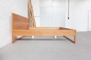 N51E12 Pure Oak Familienbett, Massivholzbett aus Echtholz Eiche, Massivholz , Doppelbett für Familien, extra breites Bett, Sonderanfertigung, Loftbett, Loft, 240x200