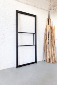 N51E12 Stahl Loft Tür, Pivottür, Einzeltür, Schwingtür, Bauhaus, Bauhaus Design, Glastrennwand, Design, Loft, Stahlrahmen, Stahl, Loft Door, Steel Loft Door, industrial Design