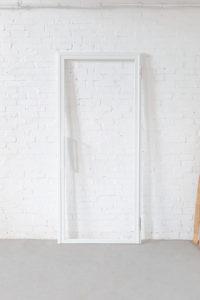 N51E12 Stahl Loft Tür, Drehtür, Designtür, Loft, Bauhaus Design, Stahl, Windfang, Raumtrenner, Glastrennwand, Flurtür, Stahltür, Lofttür, Steel Loft Door
