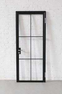 N51E12 Stahl Loft Tür, Drehtür, Designtür, Zimmertür, Lofttür, Stahlrahmen, Glastür, Design, Steel Door, industrial door