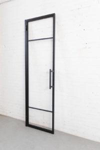 N51E12 Stahl Loft Tür, Drehtür, Lofttür, Glastrennwand, Raumtrenner, Zimmertür, Lofttür, Designtür, Steel Door, Industrial Door, Stahltür, Glastür