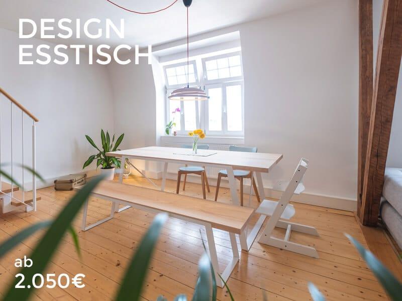 Design Esstisch Startseite Banner Shop