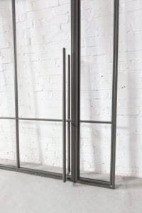 N51E12 Stahl Loft Tür, Drehtür, Stahltür, Glastür, Windfang, Raumtrenner, Glastrennwand, Seitenteil, Designtür, Bauhaus Tür, Steel Door, Industrial Door, industriel