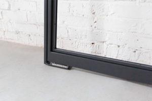 N51E12 Stahl Loft Tür, Doppeltür, Pivottür, Schwingtür, Lofttür, Glastür, Glastrennwand, Designtür, Stahltür, Glastür, Windfang, Loft, Raumtrenner, Glastrennwand, Flurtür, Bauhaus, Bauhaus Design