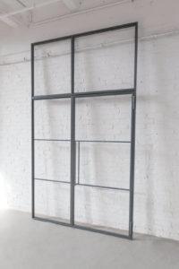 Loftstahl, N51E12, Drehtür, Glastrennwand, Stahl Loft Tür, Steel Door, industrial door, Oberlicht, Seitenteile, Designtür, Steeldoor, Glastrennwand, Glastür, Stahltür, Designtür, Bauhaustür